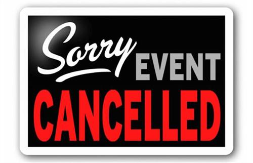 ***Events CANCELLED for February 13th***