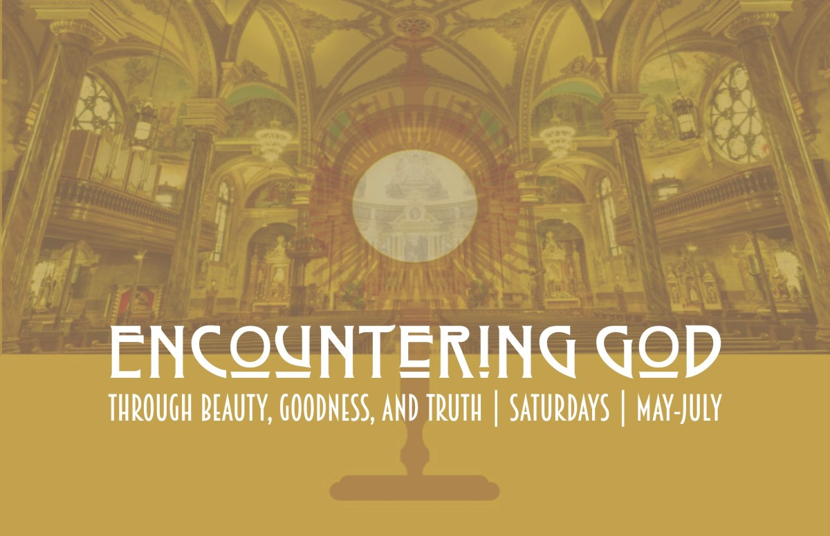 Encountering God – Series begins MAY 11th!!