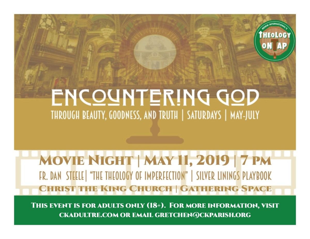 ENCOUNTERING GOD:  MOVIE NIGHT – May 11th
